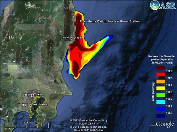 11.500 toneladas de água radioativa