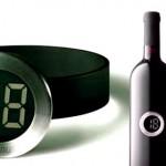 Parece relógio de pulso, mas é para medir temperatura de vinhos