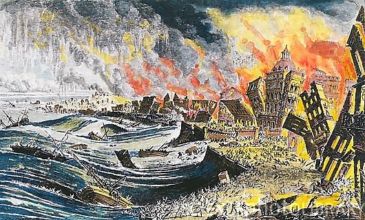 Tsunami de 1755 em Portugal