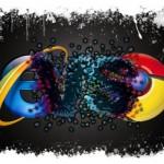 Chrome parte para cima do IE na briga dos navegadores