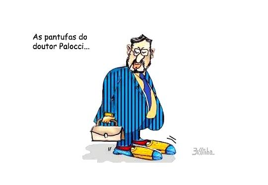 Charge - Ministro Palocci