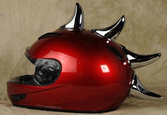 Chifres para capacetes