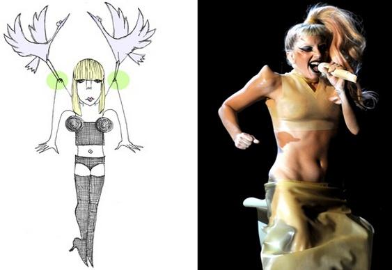 As próteses da Lady Gaga