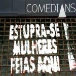 Pichado o bar 'Comedians' de Rafinha Bastos e Danilo Gentili do CQC