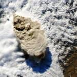 Bariloche, destino turístico de brasileiros, coberta de cinzas de vulcão