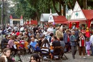 Festa do Colono Alemão em Petrópolis