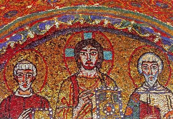 Mosaico em igreja ortodoxa - São Valentim