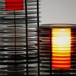 Luminárias com discos de vinil para a decoração de ambientes