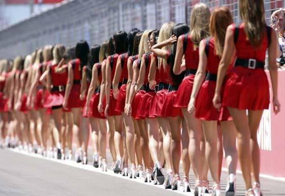Garotas do Grid da Fórmula 1