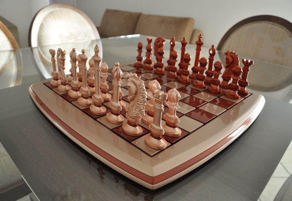 NEMO Design - novo Jogo de Xadrez