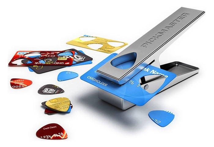 Fábrica de palhetas para violão e guitarra