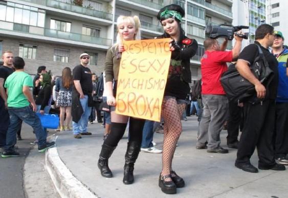 SlutWalk - Marcha das Mulheres em São Paulo