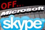 Skype volta a cair