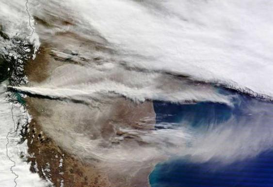 Nuvem de Cinzas - Vulcão Puyehue