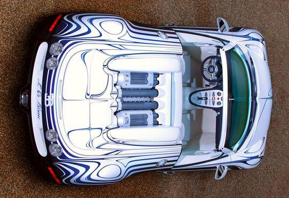 Bugatti Veyron Ouro Branco