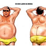 Ronaldo Fenômeno revela na praia mais do que a enorme barriga