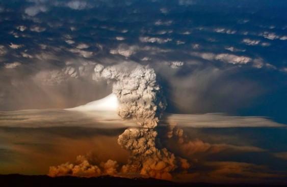 Vulcão chileno Puyehue
