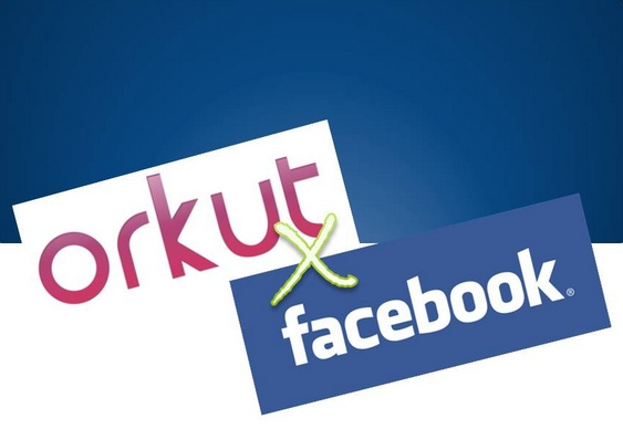 Redes Sociais Orkut e Facebook