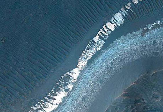 Planeta Marte tem água