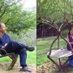 Esculturas com árvores: arte viva e utilitária na decoração do jardim