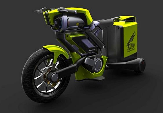 Motocicleta Ecológica