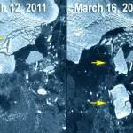 Tsunami do Japão provocou ruptura de iceberg no polo Sul