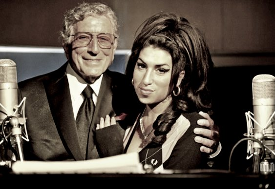 Dueto Tony Bennett e Amy Winehouse
