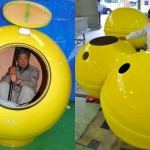 Mini Arca de Noé em forma de bola pode salvar vidas em tsunamis