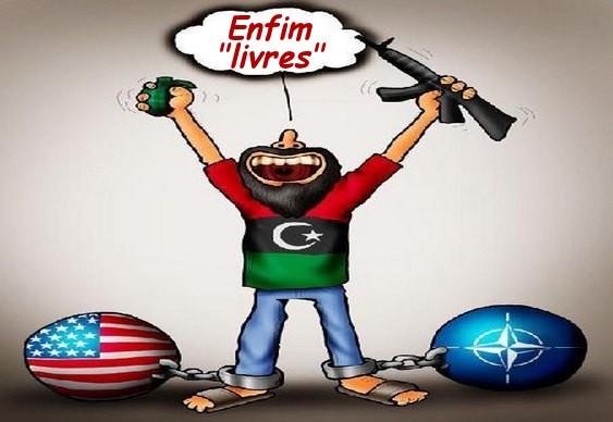 Invasão imperialista da Líbia