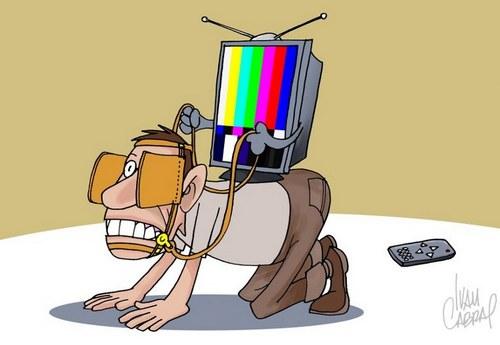 TV emburrece telespectador