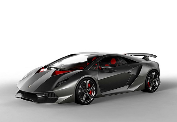 Lançamento de carro super-esportivo