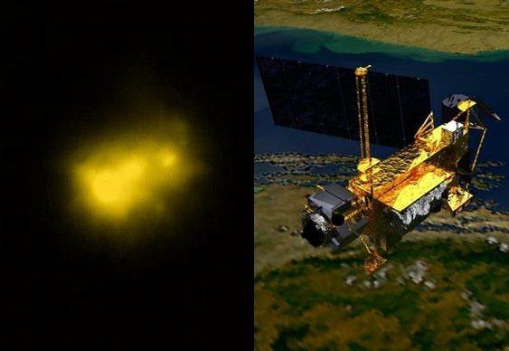 Satélite cai na Terra