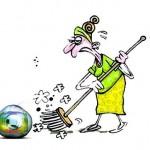 Cariocas se mobilizam por 'faxina' nas sujeiras da Rede Globo