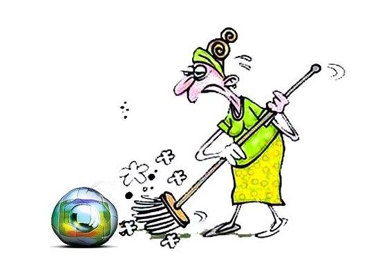 Lavagem da TV Globo