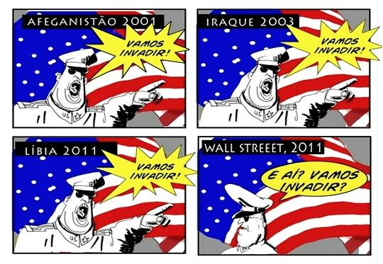 Repressão contra movimento Ocupe Wall Street