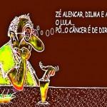 Brasil sem Lula por causa do câncer? Praga de urubu não pega!