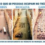 O que é melhor para a cidade: carros, ônibus ou bicicletas?