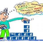 Querem provar que o Facebook deixa a cabeça da gente pirada