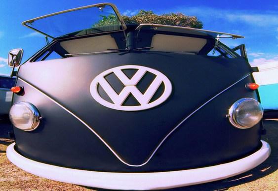 Kombi VW envelopada
