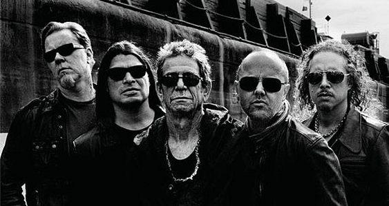 Metallica e Lou Reed juntos