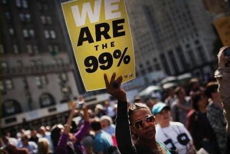 99% x 1% em Wall Street
