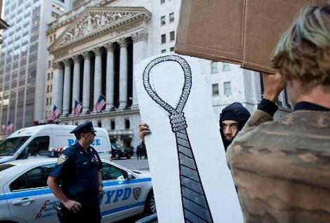 Capitalistas com a corda no pescoço