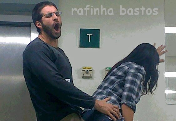Rafinha Bastos - ataque à mulher
