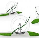Brinquedo de ratinhos inspira roda de exercícios humana