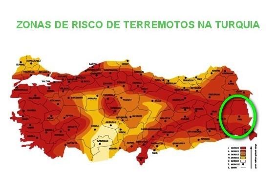 Turquia - o país dos terremotos