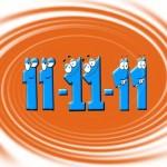 O que aconteceu de diferente no dia 11/11/11? Um palíndromo!