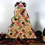 Ideias de guirlandas, enfeites e árvores de Natal recicladas