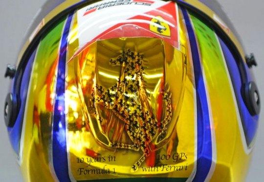 Pintura especial no capacete