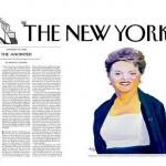 Presidenta Dilma 'ungida' pela revista The New Yorker, dos EUA