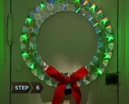 Enfeite de Natal reciclado